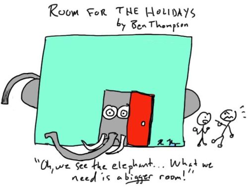 Elephant Room for Holidays